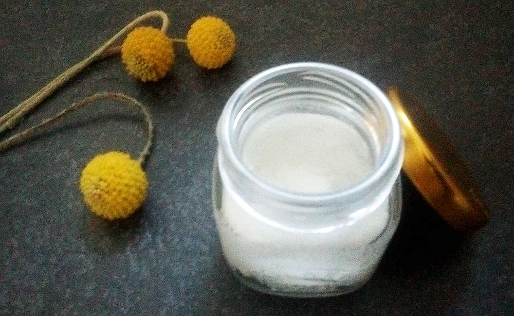 coconut oil deodorant recipe.