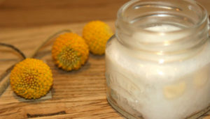 How to make deodorant with coconut oil.