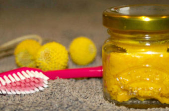 How To Make Turmeric Coconut Oil Toothpaste