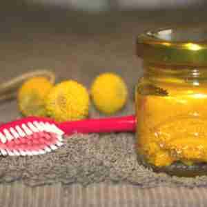 turmeric coconut oil toothpaste.