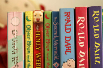 Roald Dahl books for kids.