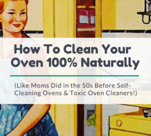 cleaning your oven with baking soda recipe