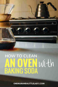 cleaning your oven with baking soda recipe.