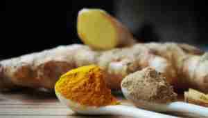 How to make turmeric ginger tea (golden milk) recipe.