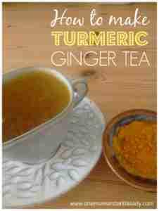 how to make turmeric ginger tea recipe.