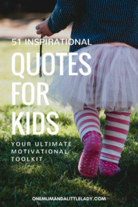 inspirational quotes for kids.