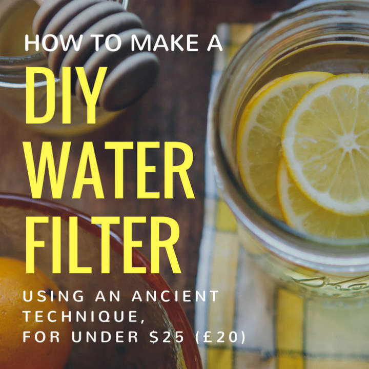 How To Make A Homemade Water Filter With Binchotan Charcoal