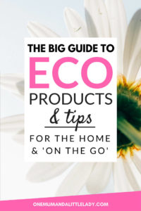 Go green with these eco friendly products and tips.