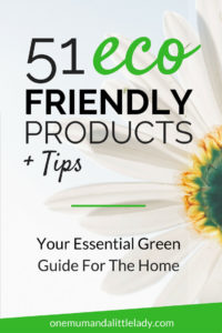 Go green with these eco friendly products and tips