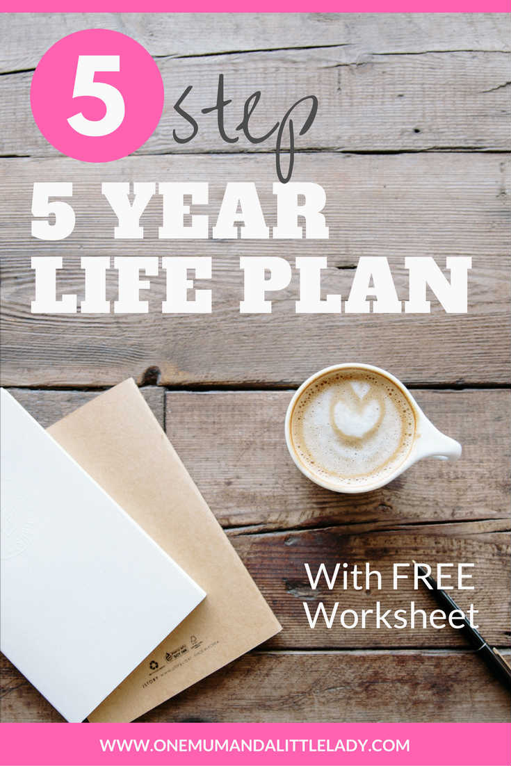 Want to know how to write a life plan? Use this super easy to use 5 step 5 year life plan & start creating your dreams life right now. Free life plan template included!