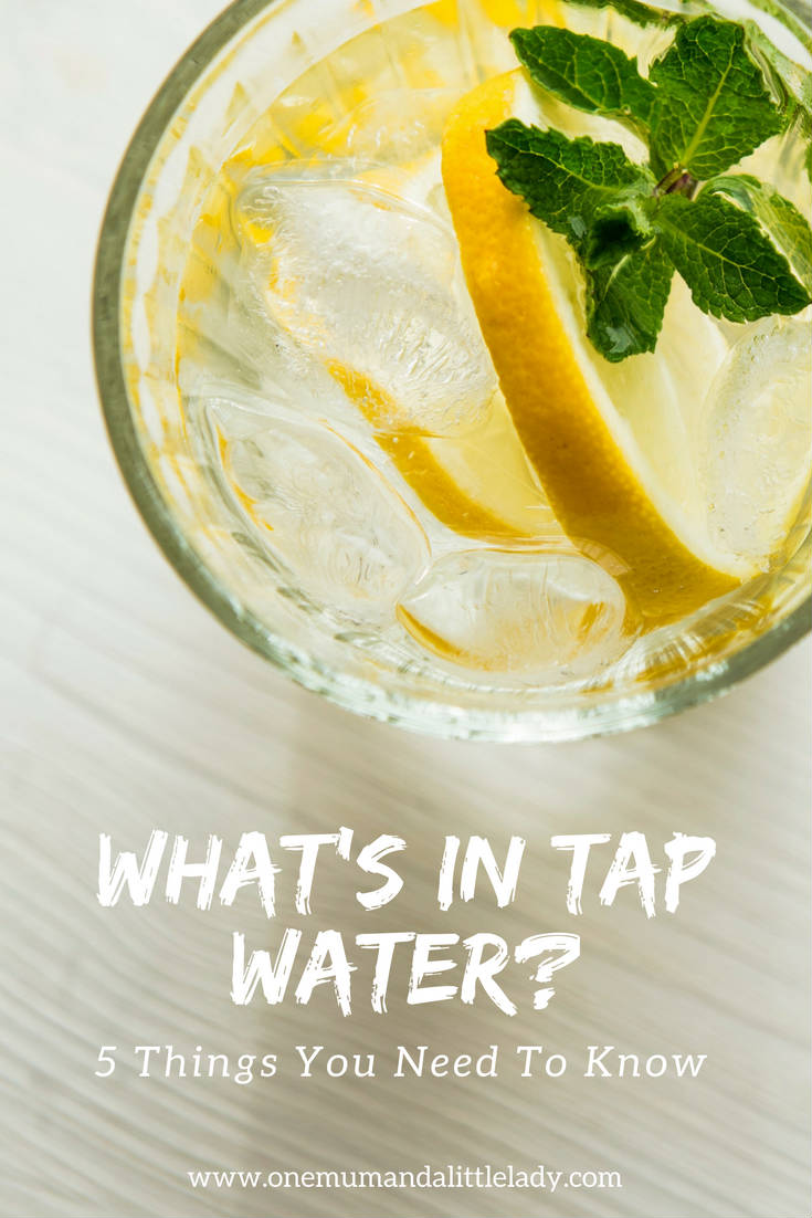 what is in tap water?