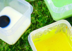 How to make homemade condensed milk paint.