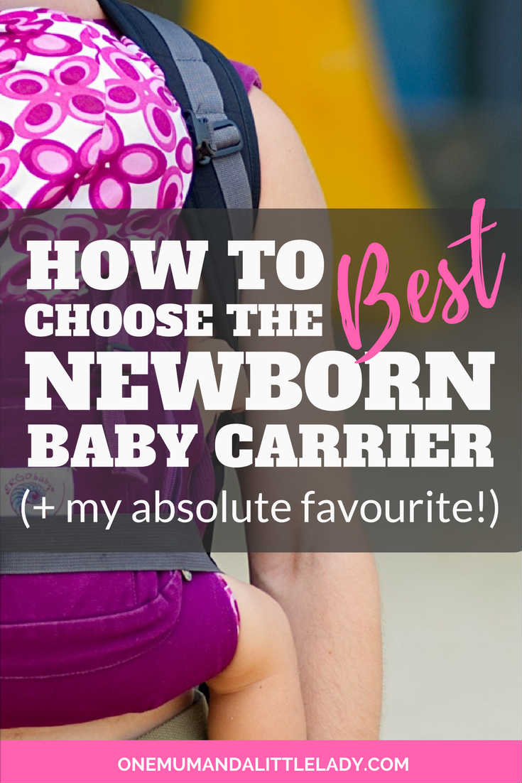 Choosing the best type of baby carrier for newborns from all the baby slings, wraps and punches available can be a challenge! This article explains how to choose a baby carrier in a few simple steps & makes the whole thing easy!