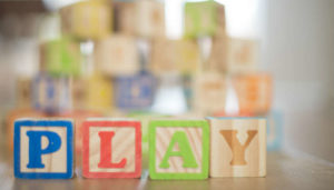Wooden baby toy blocks, as an example of a non toxic baby toy. Photo: Pixabay.com.