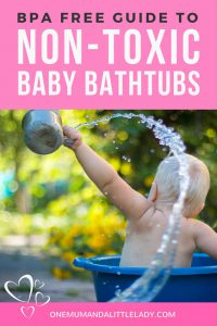 Looking for a more eco friendly baby bathtub? These 5 non-toxic baby bathtubs have you covered for a safer, healthier, BPA & PVC free bath time!