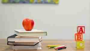 Kids books, pencils and blocks. Image: Unsplash.com.