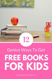 Did you know there are some fantastic places to get free books for kids? Whether you want free eBooks, free audiobooks for kids or real paper books, these 12 resources will help!