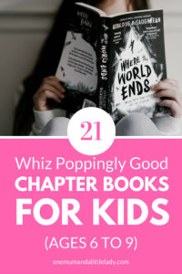 Chapter books for 7 year olds.
